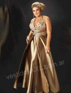 vestido fiesta xxl 88334, vestido fiesta xxl 88335