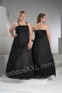 Vestidos de noche tallas extra grandes