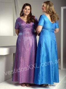 Vestido de fiesta talla xxl