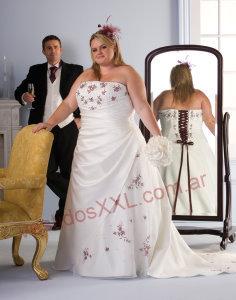 Vestidos de novia especiales para gorditas