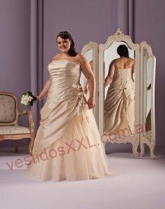 Vestido de boda xxl