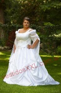 Vestidos de novia campestre para gorditas
